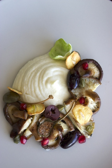 Celeriac-Mash-Mushrooms
