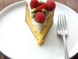 Honey-almond-orange-cake